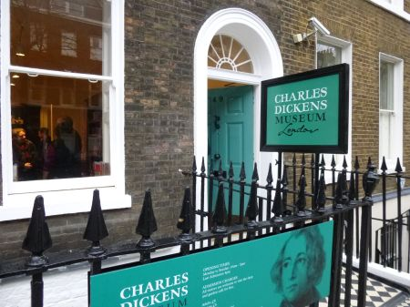 Buzzing with visitors: the newly-revamped Charles Dickens Museum in London's Bloomsbury.