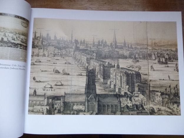 London Bridge and the City of London around 1600, in Peter Barber's book.