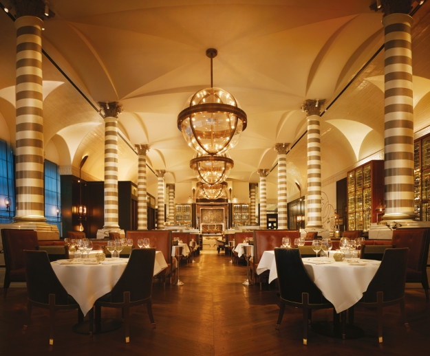 Massimo restaurant at Corinthia