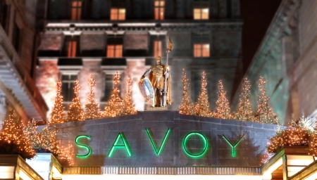 London Slant -Savoy Grill