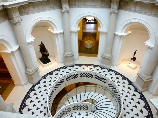 Tate Britain new staircase