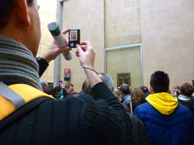 Mona Lisa at Louvre
