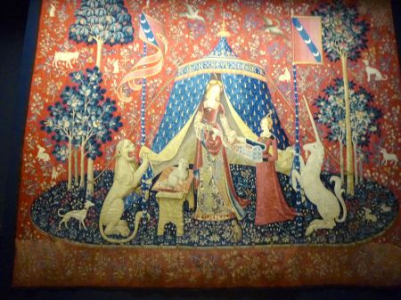 Lady and Unicorn tapestries