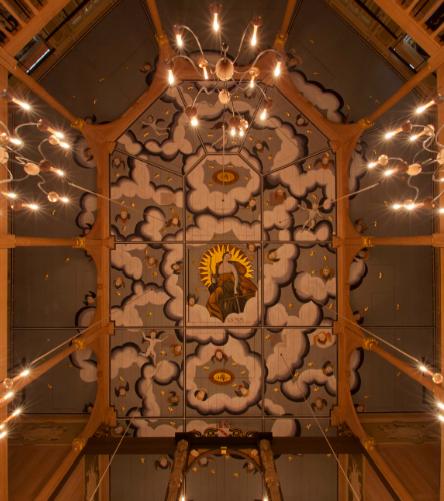 Sam Wanamaker ceiling
