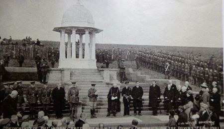 Chattri Memorial in 1921