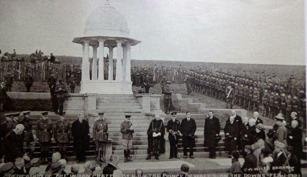 Chattri Memorial in 1921