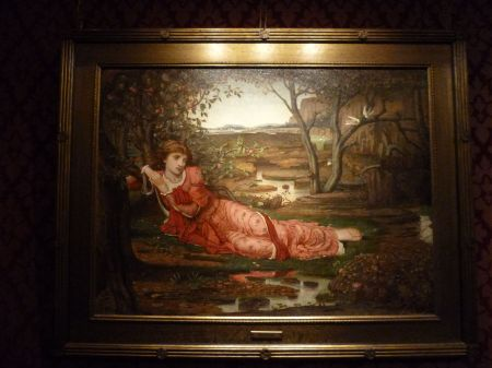 Inspired by the Pre-Raphealites: Song without Words by John Melhuish Strudwick.