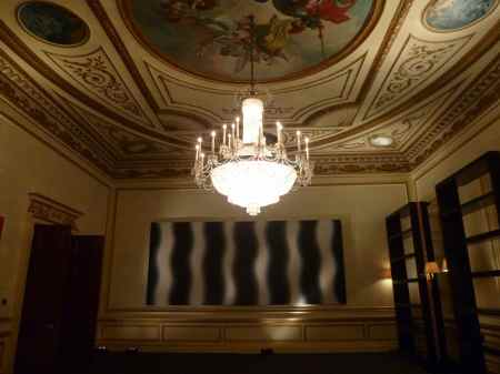 Upper floor: Wojciech Fangor: Colour-Light-Space