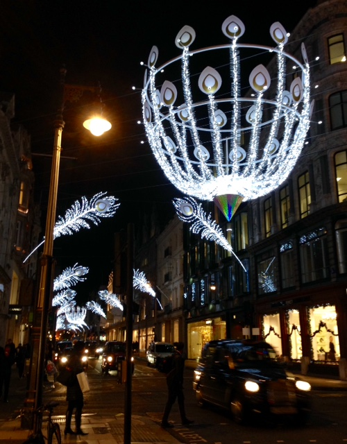 New Bond St Christmas illuminations