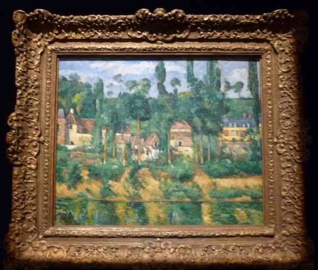 Château de Médan by Paul Cézanne.