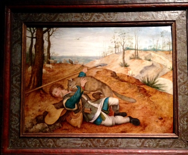 The Good Shepherd by Pieter Brueghel